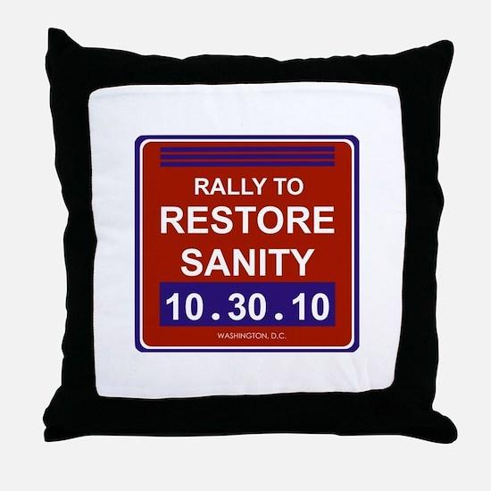 Cute Rally Throw Pillow