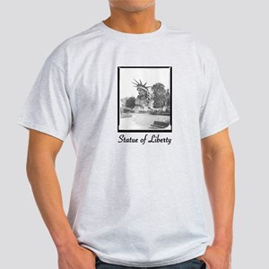 Statue of Liberty Head Light T-Shirt