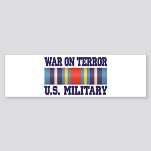 War On Terror Service Ribbon Sticker (Bumper)