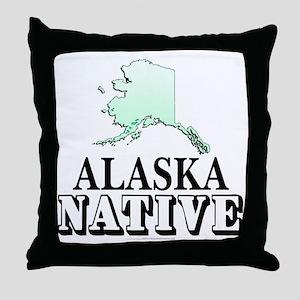 Alaska native Throw Pillow