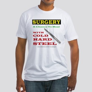 A Chance To Heal Fitted T-Shirt