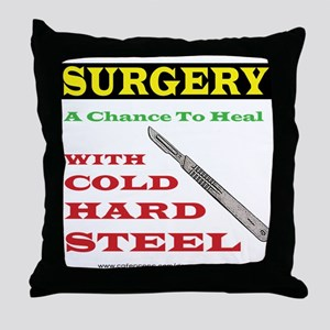 A Chance To Heal Throw Pillow