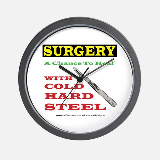 A Chance To Heal Wall Clock
