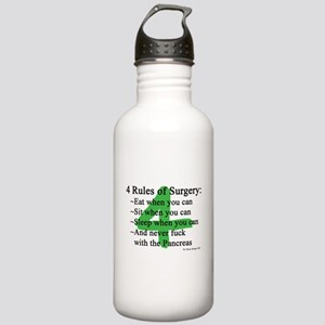 4 Rules of Surgery Stainless Water Bottle 1.0L