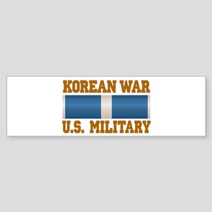 Korean War Service Ribbon Sticker (Bumper)