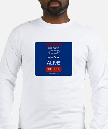 Cute March to keep fear alive Long Sleeve T-Shirt