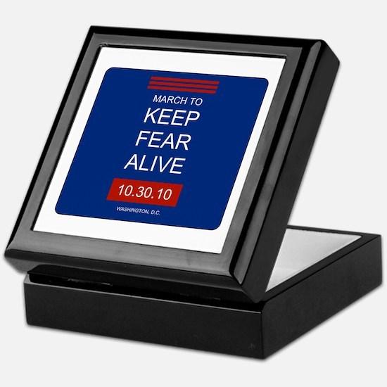 Cute Keep fear alive Keepsake Box
