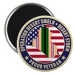 Desert Storm Veteran Magnets