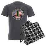 Desert Storm Veteran Men's Charcoal Pajamas