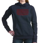 Above the Law - Illegals Women's Hooded Sweatshirt