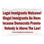 Above the Law - Illegals! Pillow Case
