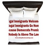 Above the Law - Illegals! King Duvet