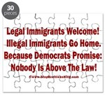 Above the Law - Illegals! Puzzle