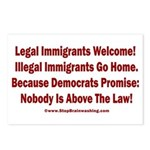 Above the Law - Illegals! Postcards (Package of 8)