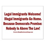 Above the Law - Illegals! Small Poster