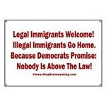 Above the Law - Illegals! Banner