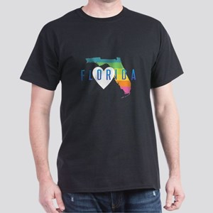 Florida Heart Rainbow T-Shirt