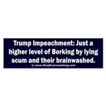 Borking Trump Sticker (Bumper)
