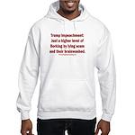 Borking Trump Hooded Sweatshirt