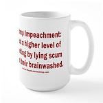 Borking Trump 15 oz Ceramic Large Mug