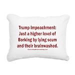 Borking Trump Rectangular Canvas Pillow