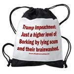 Borking Trump Drawstring Bag