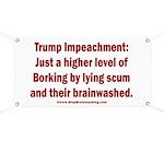 Borking Trump Banner
