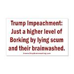 Borking Trump 20x12 Wall Decal