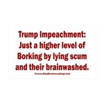 Borking Trump 35x21 Wall Decal