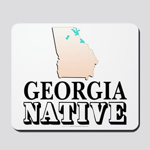 Georgia native Mousepad