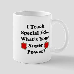 I teach special ed Mugs