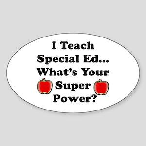 I teach special ed Sticker