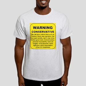 WARNING CONSERVATIVE... Light T-Shirt