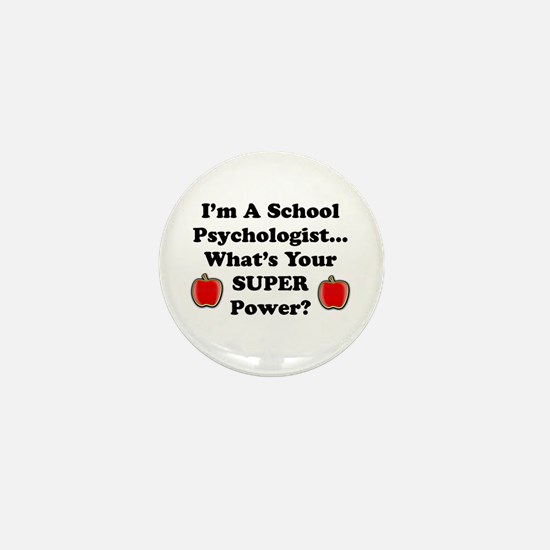 Funny Super teacher Mini Button