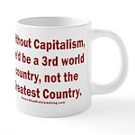Without Capitalism 20 oz Ceramic Mega Mug