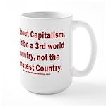 Without Capitalism 15 oz Ceramic Large Mug