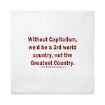 Without Capitalism Queen Duvet