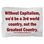 Without Capitalism Pillow Sham