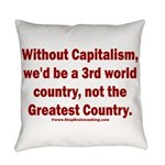 Without Capitalism Everyday Pillow