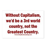 Without Capitalism Postcards (Package of 8)