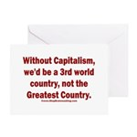Without Capitalism Greeting Card