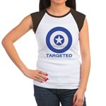Targeted Women's Cap Sleeve T-Shirt