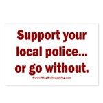 Support Police or ? Postcards (Package of 8)