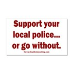 Support Police or ? Car Magnet 20 x 12