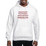 Impeachment reveals Dems Hooded Sweatshirt