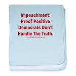 Impeachment reveals Dems baby blanket
