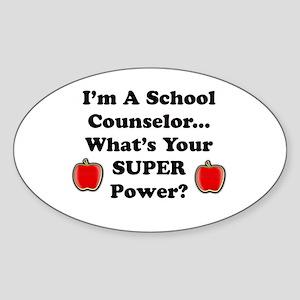 I teach counselor Sticker