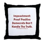 Impeachment reveals Dems Throw Pillow