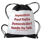 Impeachment reveals Dems Drawstring Bag