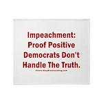 Impeachment reveals Dems Throw Blanket